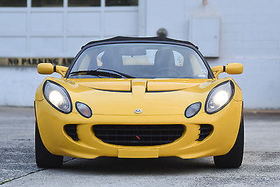Lotus : Elise Two door soft top 2006 lotus elise sport and touring saffron yellow