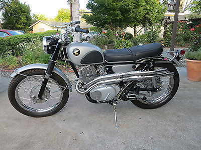 Honda CL 1965 Cl 72 Scrambler 250 High Quality Restoration With New Parts And