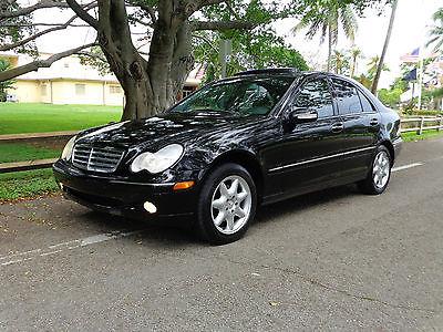 Mercedes-Benz : C-Class Elegance Sedan 4-Door 2001 mercedes benz c 240 elegance sedan 4 door 2.6 l