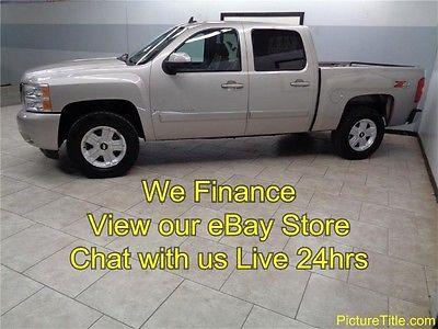 Chevrolet : Silverado 1500 LTZ 4WD Crew Cab 07 silverado ltz 4 x 4 crew cab leather heated seats we finance texas