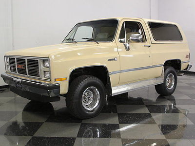 GMC : Jimmy Blazer MOSTLY ALL ORIGINAL JIMMY, WELL PRESERVED 80'S SUV, LOW OWNERS & WELL PRESERVED