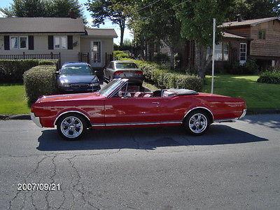 Oldsmobile : Cutlass CHROME 1967 cutlass conver full body off rame resto done in 2006 330 engine