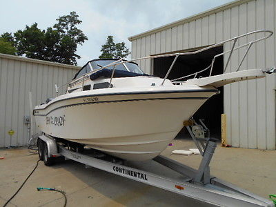 2001 Grady White 248 Voyager Twin 115 Yamahas 4 stroke
