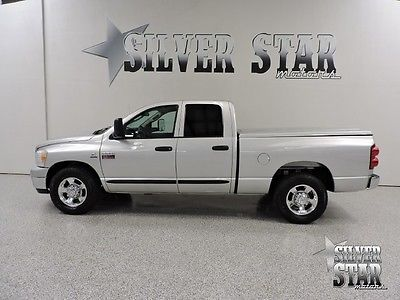 Dodge : Ram 2500 SLT Cummins Turbo Diesel 2007 ram 2500 slt 3 4 ton cummins at quadcab shortbed leather bedcover txowner