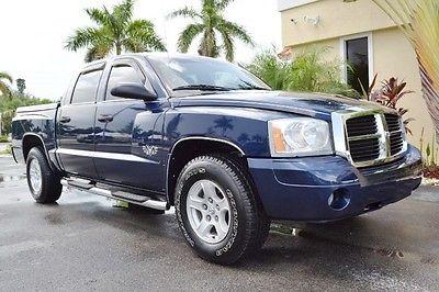 Dodge : Dakota SLT 2007 dodge dakota slt crew cab v 8 florida truck remote start cd 69 k miles