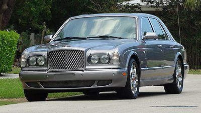 Bentley : Arnage ARNAGE 2001 bentley arnage ultra premium luxury sedan with 44 000 miles real powerhouse