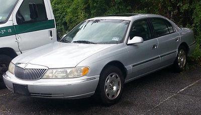Lincoln : Continental Base Sedan 4-Door 1999 lincoln continental base sedan 4 door 4.6 l