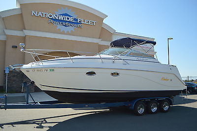 2001 Rinker Fiesta Vee 270 Cuddy Cabin Cruiser Boat with Trailer
