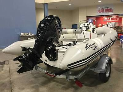 2015 Atomix Inflatable 17' RIB