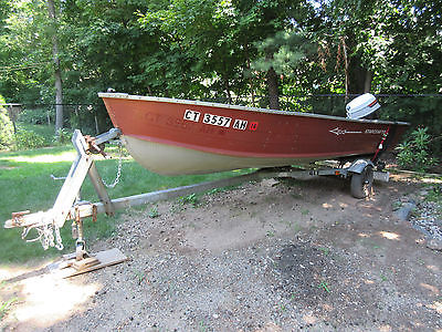 16' Starcraft Alummiun Boat, Trailer, Outboard Motor & Accessories