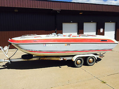1991 Four Winns Candia 180 Deck Boat