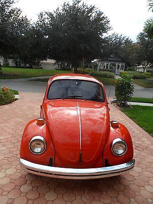 Volkswagen : Beetle - Classic Black Burnt Orange VW