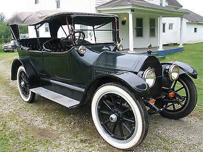 Cadillac : Other open touring 1914 cadillac open touring car brass era