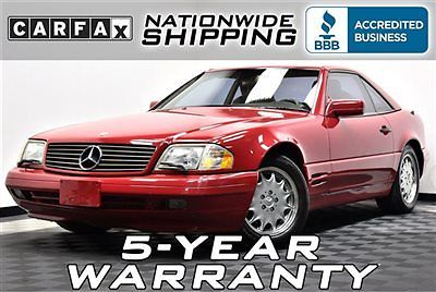 Mercedes-Benz : SL-Class SL500 43 k miles must see nationwide shipping 5 year warranty leather loaded sl 500