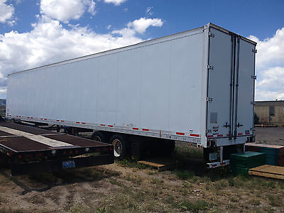 2004 Wabash Commercial Box Dry Van Trailer 53' foot long x 102