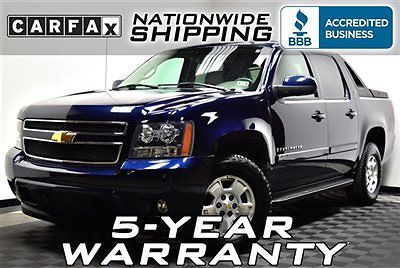 Chevrolet : Avalanche LT 2LT 4x4 Loaded LT 4x4 Nationwide Shipping 5 Year Warranty Leather 4WD SUV Truck Luxury