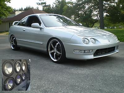 Acura : Integra GS ONE OF A KIND AWESOME STEREO SYSTEM! VERY LOW MILES! ONE OWNER!