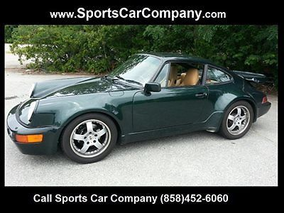 Porsche : 964 3.3 Liter Turbo Widebody 1990 porsche 964 with 3.3 litre turbo engine wide body 35 k spentonrestoration