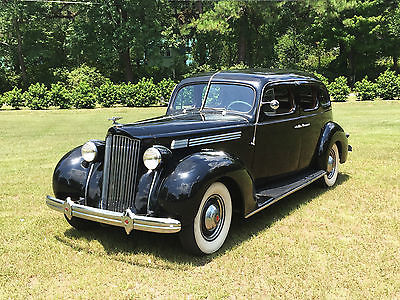 Packard : Eight Deluxe 4 Door Touring Sedan 1601-D Beautiful Original 1938 Packard Deluxe Eight Touring Sedan (1936 1937 1939 1940)