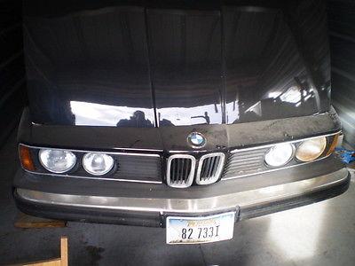 BMW : 7-Series 733I 1982 bmw 733 i base sedan 4 door 3.2 l
