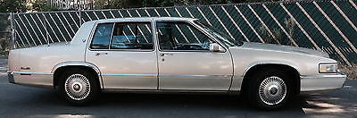 Cadillac : DeVille Base coupe 4 door Cadillac Sedan Deville 1990
