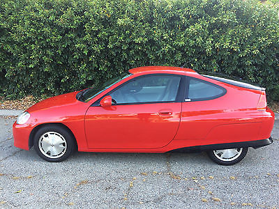Honda : Insight 5 Speed A/C 5 speed super low 73 111 mi a c red no dings or dents clean carfax 100