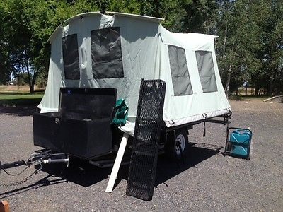 2008 Jumping Jack Pop-Up Tent Trailer