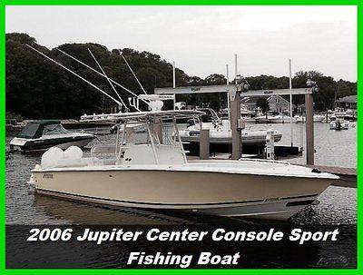 2006 Jupiter 31 CC Center Console Fishing Boat Yamaha 2 Stroke