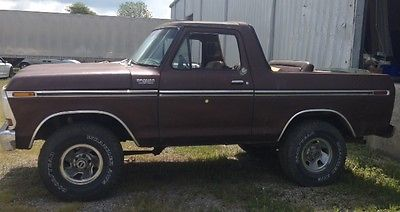 Ford : Bronco Ford Bronco 1978 ford bronco custom 400 big block runs great 113 k miles