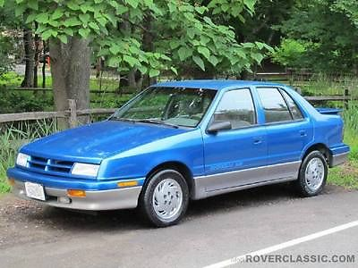 Dodge : Shadow ES 1993 dodge shadow es hatchback 4 door 3.0 l