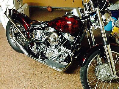 Harley-Davidson : Other 1949 harley davidson fl custom panhead