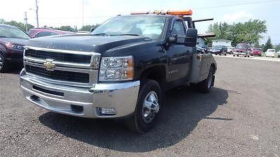 Chevrolet : Silverado 3500 Tow 2008 chevy silverado 3500 tow truck perfect for repo s