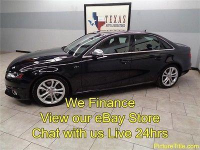 Audi : S4 Premium Plus 12 s 4 twin turbo premium gps navi 6 speed leather heated seats we finance texas