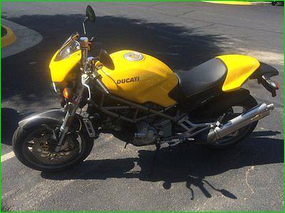 Ducati : Monster 2001 ducati monster s 4 used