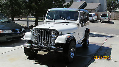 Jeep : CJ hardtop 1986 jeep cj 7 last of a great breed collectors edition mostly stock clean
