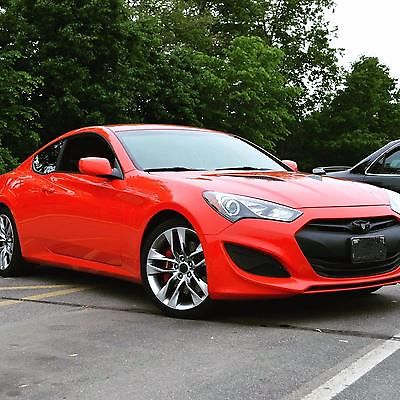 2013 hyundai genesis coupe red cars for sale. Black Bedroom Furniture Sets. Home Design Ideas