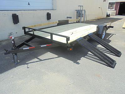 New 7x14 3&5 k Mini Car ATV UTV Utility Landscape side or rear load trailer