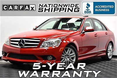 Mercedes-Benz : C-Class C300 Sport Loaded Sport Nationwide Shipping 5 Year Warranty Leather Sunroof V6 Luxury