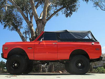 GMC : Jimmy K5  1970 gmc jimmy 4 x 4 convertible safari top california stunning
