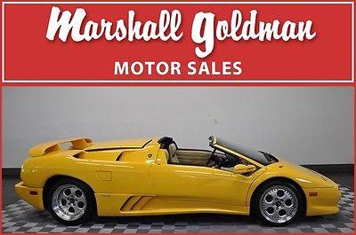 Lamborghini : Diablo 1997 lamborghini diablo v t roadster yellow snowcorn 16 600 klm or 10 000 miles