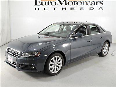 Audi : A4 2.0T quattro Audi A4 2.0T quattro premium plus meteor gray four door sedan financing used awd