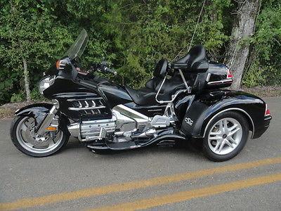 Honda : Gold Wing 2001 honda goldwing gl 1800 w california sidecar s cobra xl trike kit