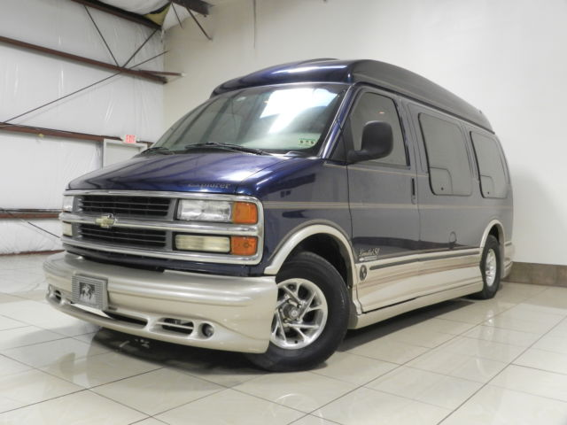 Chevrolet Express CONVERSION CHEVROLET EXPRESS HIGHTOP EXPLORER LIMITED SE ONE OWNER VAN 79K MILES
