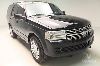 Lincoln : Navigator Base 4x4 2009 leather heated sunroof rear dvd v 8 sohc we finance 47 k miles