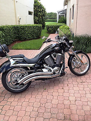 Victory : Jackpot Premium 2008 victory jackpot premium black one owner super low miles garage kept