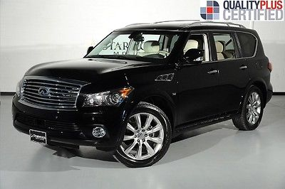 Infiniti : QX56 Deluxe Touring 4WD Wave 7-pass Seating 2014 infiniti deluxe touring 4 wd wave 7 pass seating