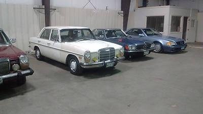 Mercedes-Benz : 200-Series SEDAN RARE 1972 MERCEDES 220D, DIESEL MANUAL, CLASSIC LUXURY 67,68.69 LOW MILES