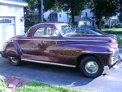 Dodge : Other 1948 dodge 3 window coupe hot rod