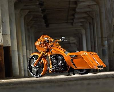 Harley-Davidson : Touring Award Winning full custom 2012 Harley Road Glide - all steel construction