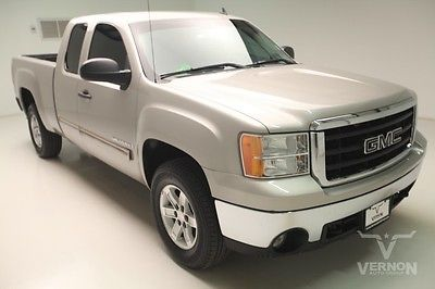 GMC : Sierra 1500 SLE Extended Cab 2WD 2007 ebony cloth mp 3 auxiliary trailer hitch v 8 vortec we finance 51 k miles